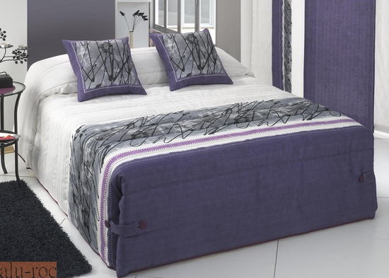 Edredón Conforter en tonos morados
