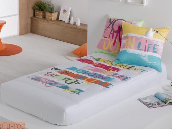 Edredón ajustable juvenil, para dormitorios de adolescentes chicos y chicas