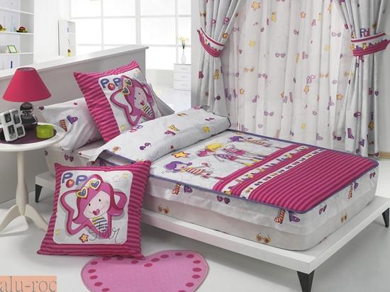Saco nórdico infantil para niña, ideal para camas nido o literas