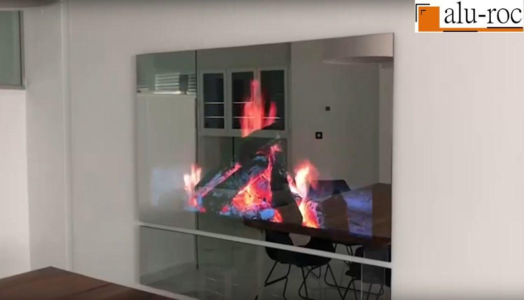 Aplicaciones de proyección de imagenes sobre cristal