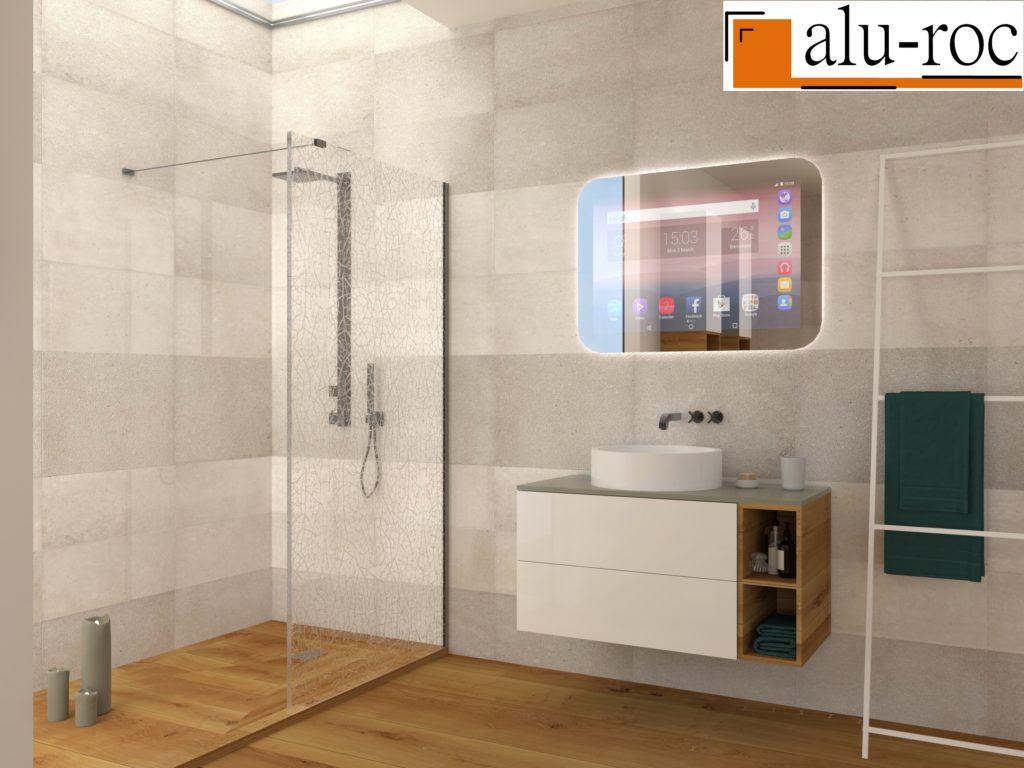 Espejos digitales interactivos para baños de Hotel
