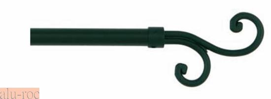 Kit de barra extensible en forja con tap n rizos - Barras de pared para colgar ropa ...