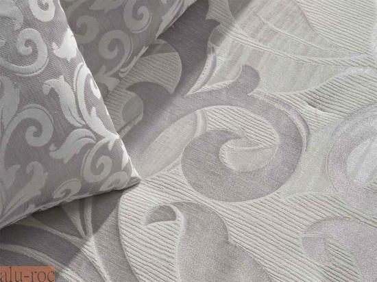 Bouti jaquard donatella - Cortinas gris plata ...