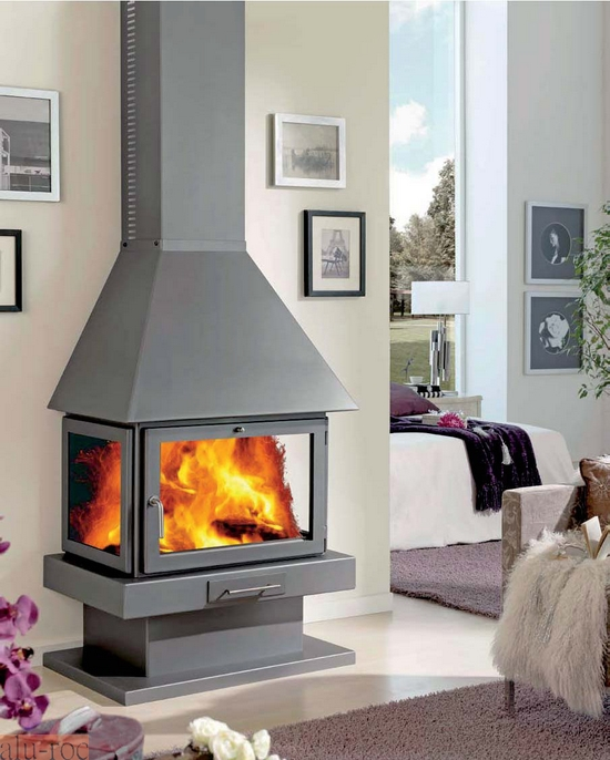 Chimenea panadero everest - Decoracion de chimeneas modernas ...