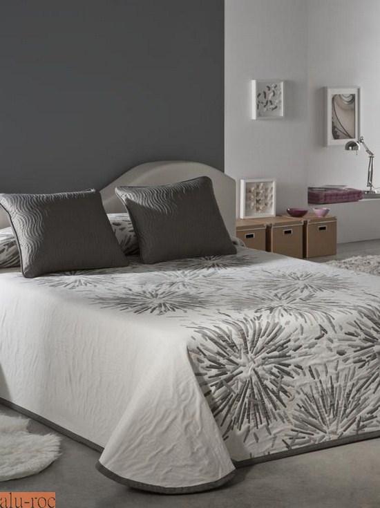 Colchas de todos los estilos y dise os para decorar tu cama - Como decorar cabeceros de cama ...