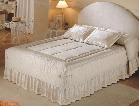 Colcha edred n modelo rania for Colchas para camas de 150 con canape