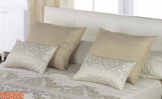 Cojines tiffany - Decorar cama con cojines ...