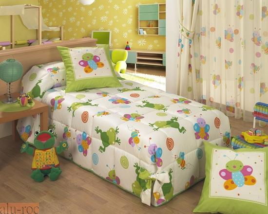 3821867e9ea Colcha para cama con estampado de animales para decorar dormitorios  infantiles