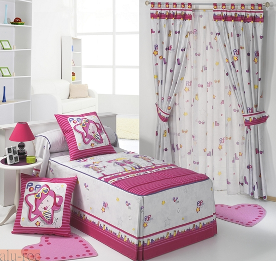 Cortinas Dormitorio Nia. Amazing Elegante Adems De Decoracion ...