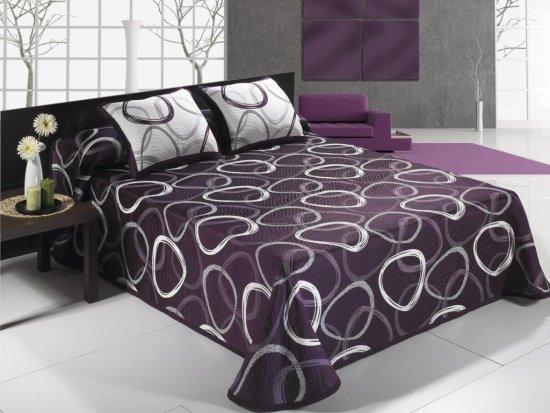 Colcha moderna para cama glycia - Imagenes de colchas para camas ...