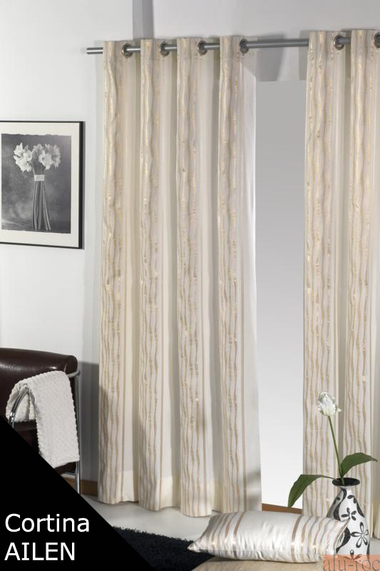 cortina confeccionada modelo ailen