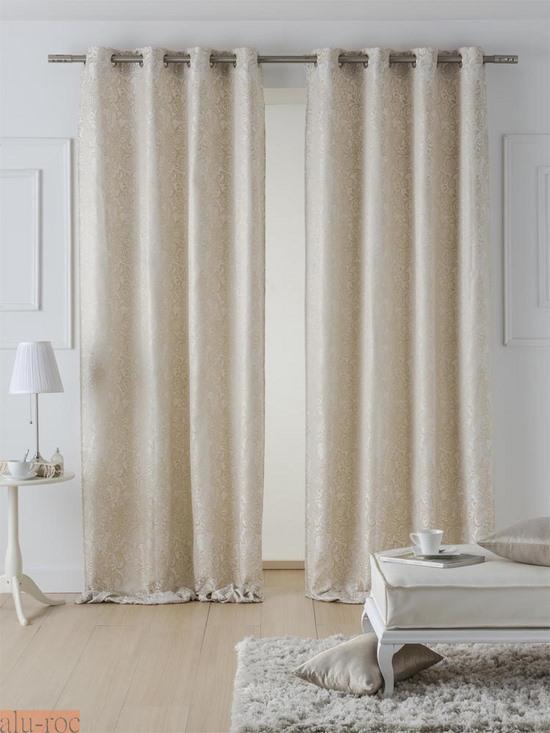 Cortinas estampadas ivanna for Enganches para cortinas
