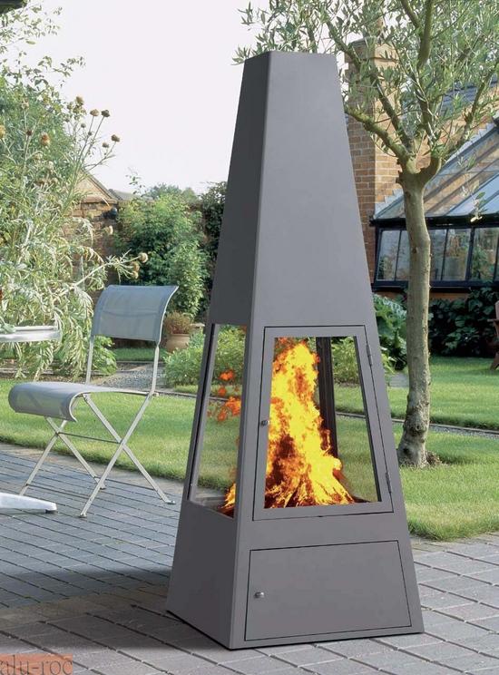 Estufa de exterior de le a garden - Estufas electricas para terrazas ...