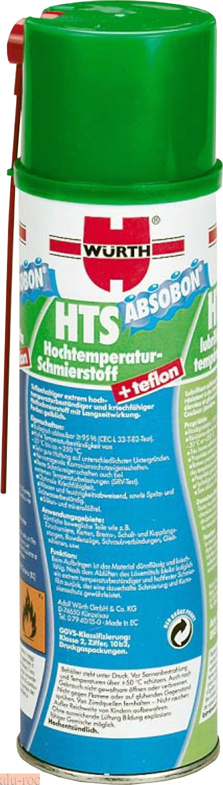 Würth hts absobon PTFE 500 ml