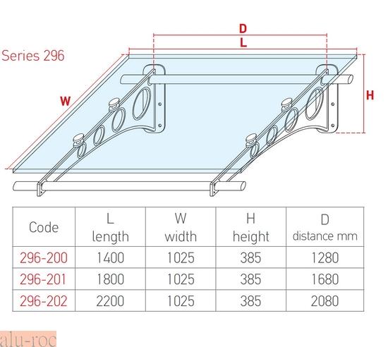 ... de diseu00f1o moderno circular de aluminio y vidrio acru00edlico ALUMINCO