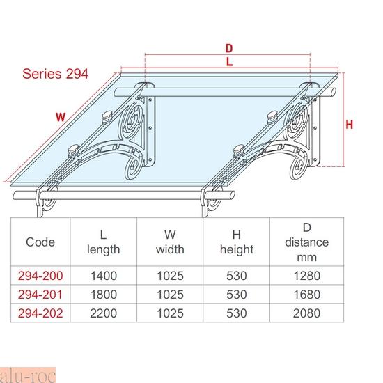 Techado de aluminio y vidrio plexiglas para viviendas de ambiente cl sico aluminco 294 20 - Medidas de pergolas ...