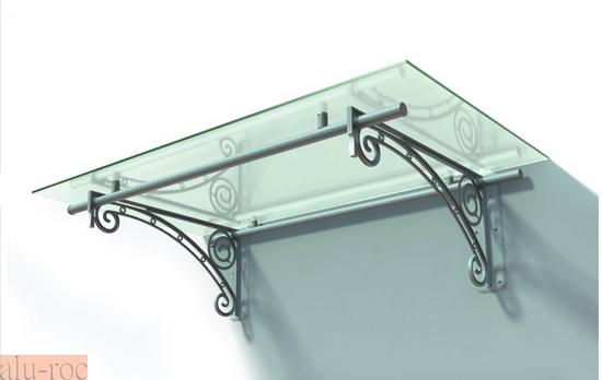 Techado de aluminio y vidrio plexiglas para viviendas de - Marquesinas para puertas leroy merlin ...