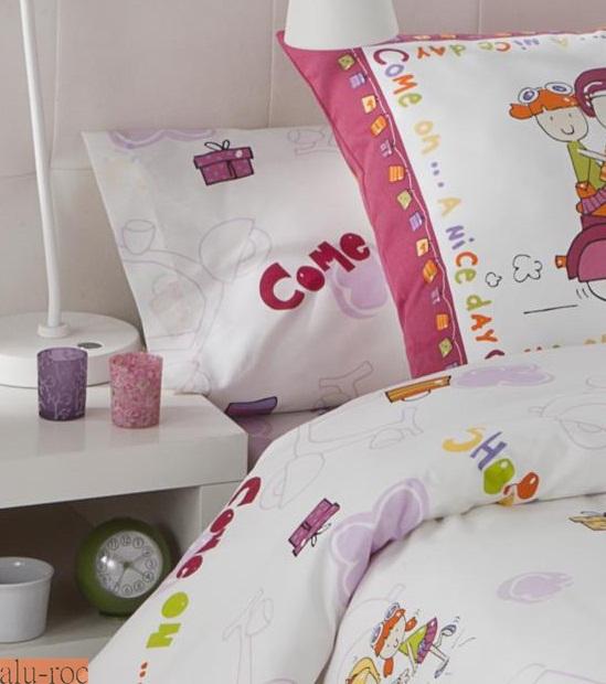 8ccad0638d1 Textiles para cama infantil cálidos y ligeros para el invierno. Funda  nórdica ...