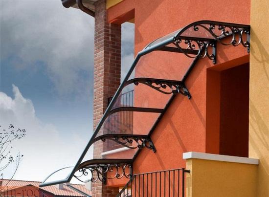Marquesinas policarbonato - Escaleras de techo ...