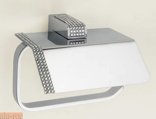 Portarrollo de papel higi nico serie diamond h9000 06 for Accesorios bano papel higienico
