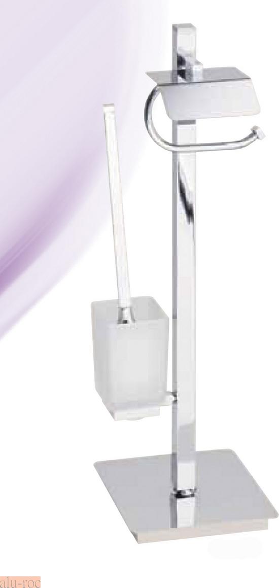 Escobillero portarrollo de pie h4009 - Accesorios para el cuarto de bano ...