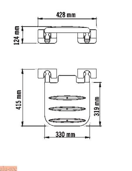 Instalacion Baño Minusvalidos:asiento plegable para baños en diferentes colores ref 07w1 color azul