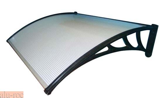 Marquesina de policarbonato basic pvc atrn for Techos de policarbonato para exteriores