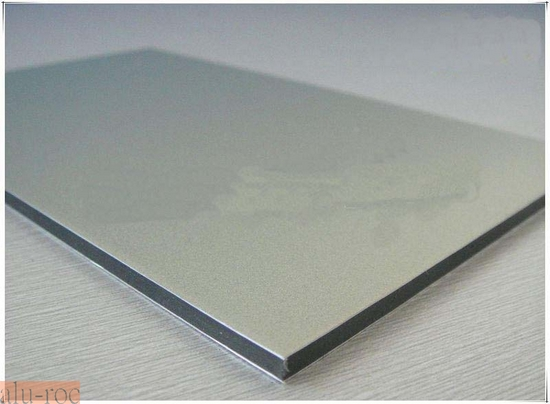 Marquesinas policarbonato for Panel sandwich aluminio blanco