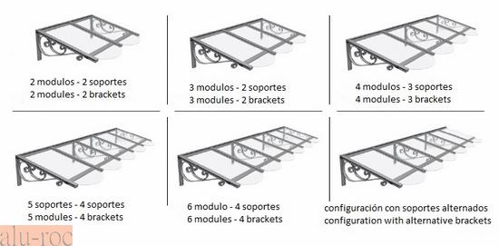 Marquesinas policarbonato - Como construir un tejado ...