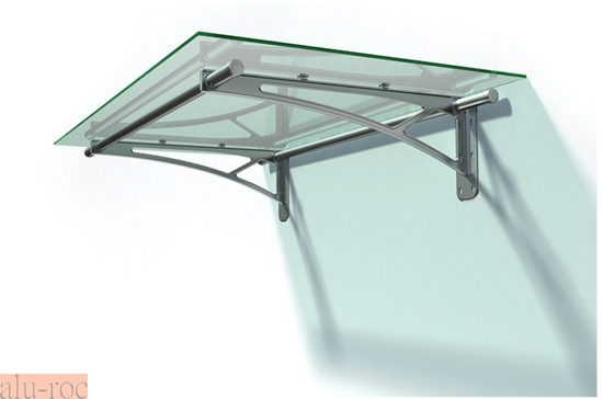 Techado de aluminio y vidrio plexiglas para viviendas de for Techos exteriores para casas