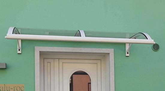 Tejadillos sobre puertas entrada a la casa con puerta de - Tejadillos sobre puertas ...