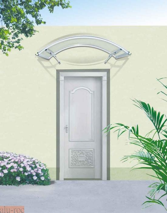 Marquesinas policarbonato for Puertas prefabricadas